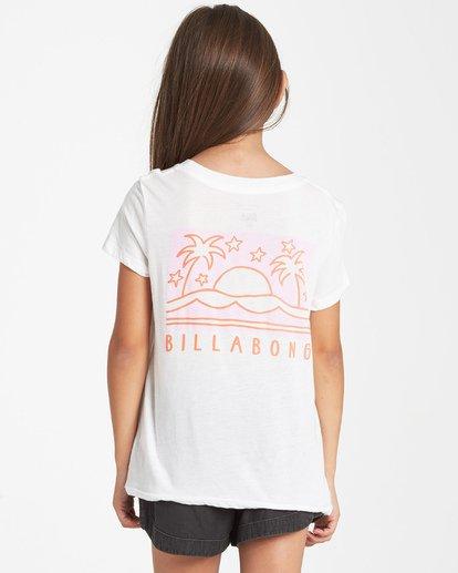 0 Girls' Good Vibrations T-Shirt Beige G484VBGO Billabong
