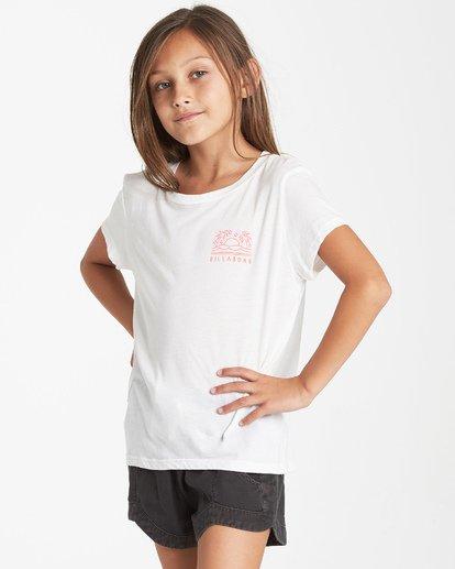 1 Girls' Good Vibrations T-Shirt Beige G484VBGO Billabong