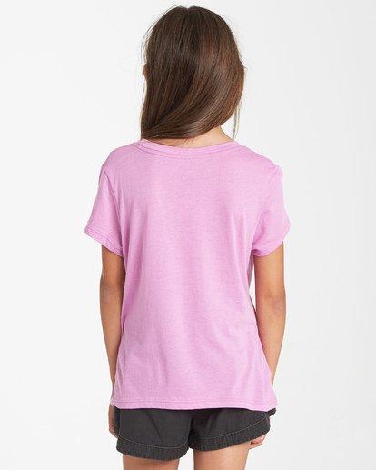 2 Girls' Pineapple Party T-Shirt Purple G484VBPI Billabong