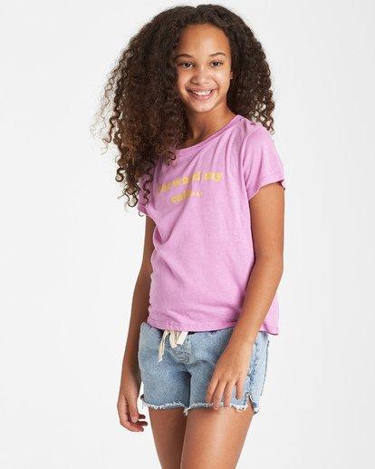 1 Girls' Vacation T-Shirt Purple G484VBVA Billabong