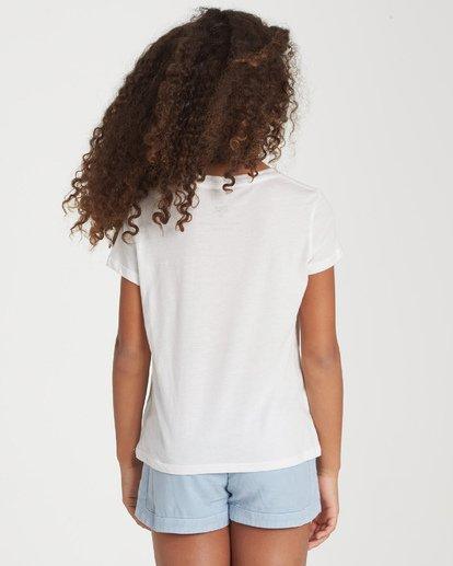 1 Girls' Be Good Do Good T-Shirt Beige G484WBBE Billabong