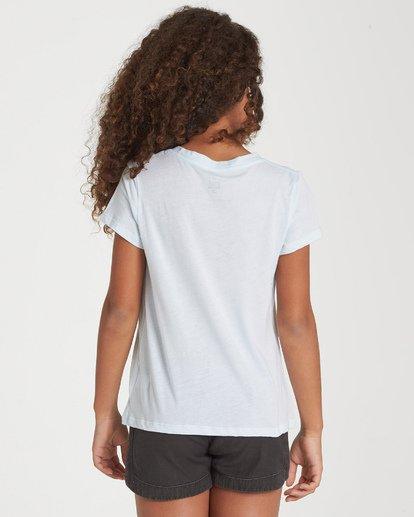 2 Girls' Blue Skies Ahead T-Shirt Black G484WBBL Billabong