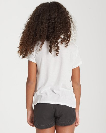 2 Girls' Bright Side Of The Moon T-Shirt Beige G484WBBR Billabong