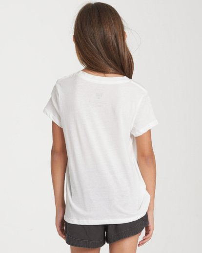 1 Girls' Party Animal T-Shirt Beige G484WBPA Billabong