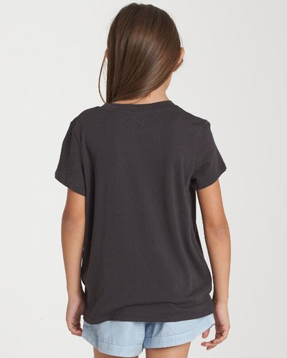 1 Girls' Wild Hearts T-Shirt Black G484WBWI Billabong