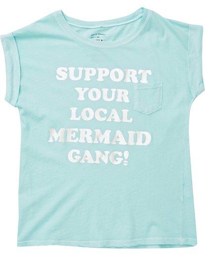 1 Girls' Mermaid Gang Tee  G491PBME Billabong