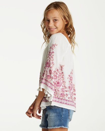 2 Girls' Desert Dreamer Top Beige G501VBDE Billabong