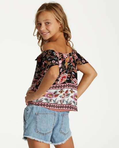 2 Girls' Hip Hip Top Black G502VBHI Billabong