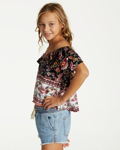 1 Girls' Hip Hip Top Black G502VBHI Billabong