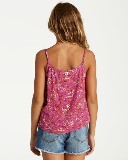2 Girls' Double Day Top Multicolor G504VBDO Billabong