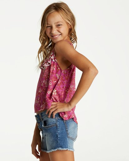 1 Girls' Double Day Top Multicolor G504VBDO Billabong