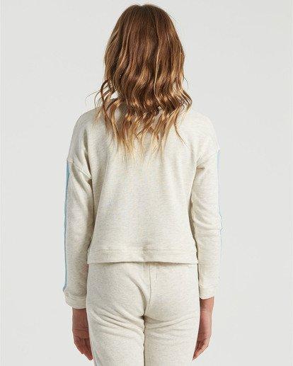 1 Girls' Cali Bear Sweatshirt Grey G6013BCA Billabong