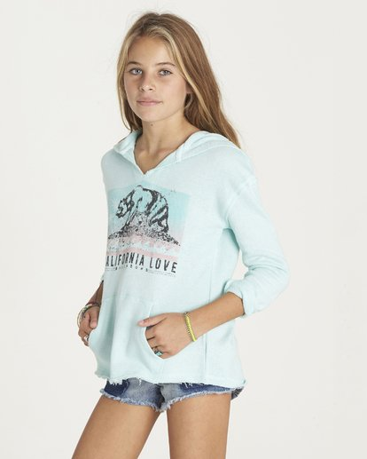 1 Girls' Days Off Pullover Hoodie  G601LDAY Billabong