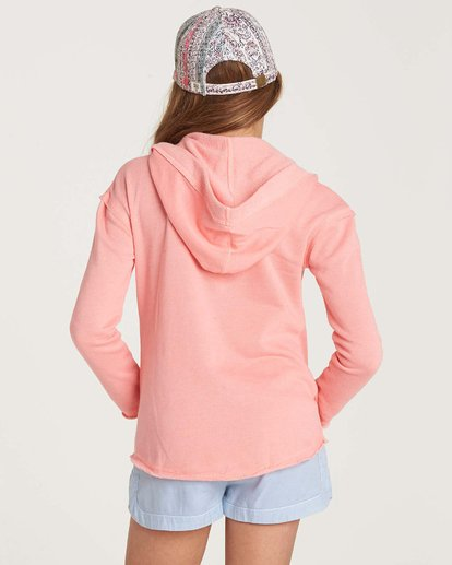 2 Girls' Days Off Pullover Hoodie Pink G601NBDA Billabong