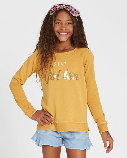 0 Girls' Better Days Fleece Pullover  G601SBBE Billabong