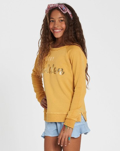 1 Girls' Better Days Fleece Pullover  G601SBBE Billabong