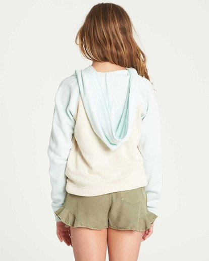 2 Girls' Days Off 2 Hooded Sweatshirt White G601TBDA Billabong