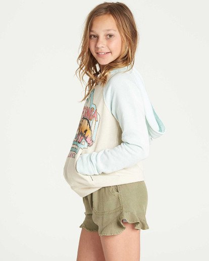 1 Girls' Days Off 2 Hooded Sweatshirt White G601TBDA Billabong