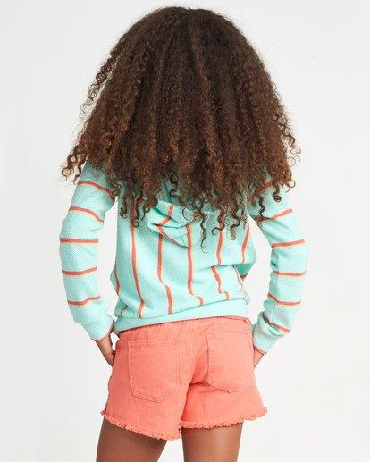 2 Girls' Sandy Stripes Multicolor G601WBSA Billabong