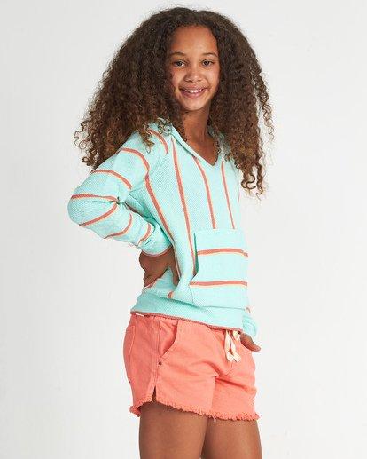 1 Girls' Sandy Stripes Multicolor G601WBSA Billabong