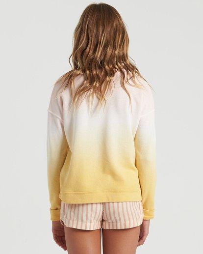 5 Girls' Block Talk Sweatshirt Grey G6023BBL Billabong