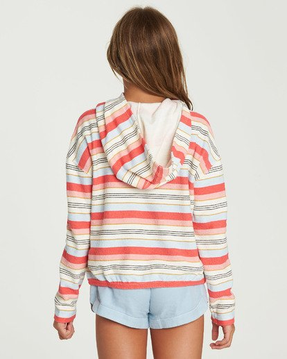 2 Girls' Friday Feeling Hoodie  G602QBFR Billabong