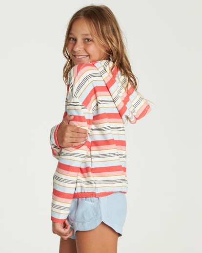 1 Girls' Friday Feeling Hoodie  G602QBFR Billabong