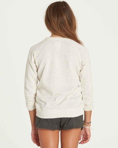2 Girls' This Time Crew Neck Fleece  G605PBTH Billabong