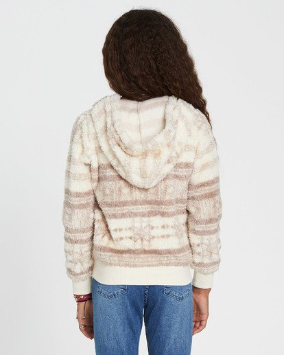 2 Girls' Cozy Town Fleece Beige G606QBCO Billabong