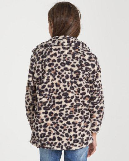 2 Girls' Artic Oasis Fleece Jacket Beige G607SBAR Billabong