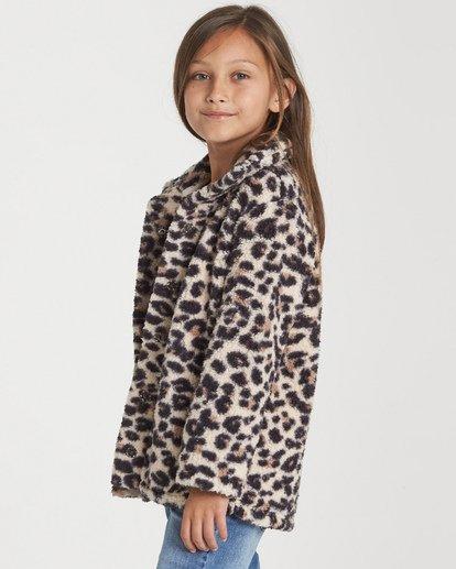 1 Girls' Artic Oasis Fleece Jacket Beige G607SBAR Billabong