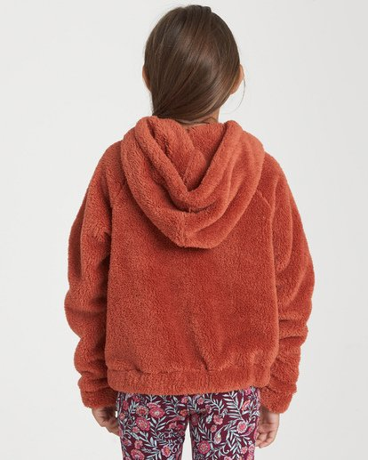 2 Girls' Snow Day 2 Fleece Jacket Purple G608WBSN Billabong