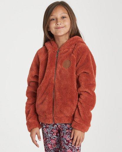 0 Girls' Snow Day 2 Fleece Jacket Purple G608WBSN Billabong