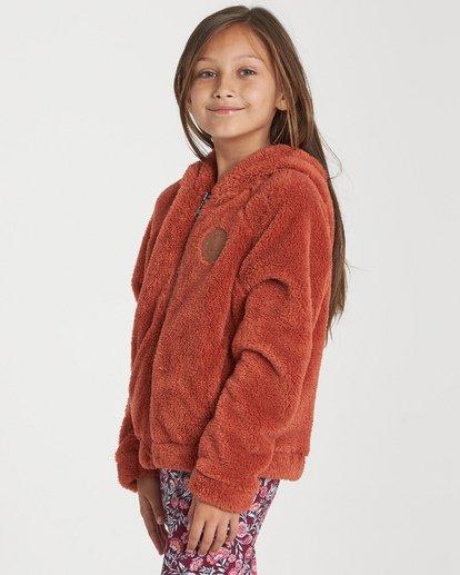 1 Girls' Snow Day 2 Fleece Jacket Purple G608WBSN Billabong