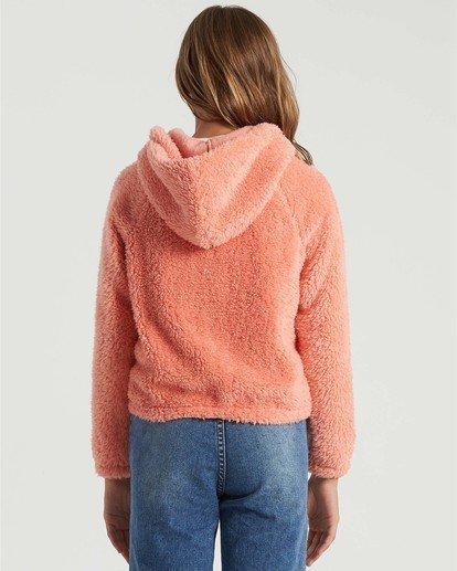 1 Girls' Winter Break Fleece Jacket Multicolor G6093BWI Billabong