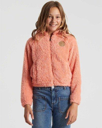 0 Girls' Winter Break Fleece Jacket Multicolor G6093BWI Billabong