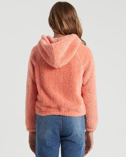 2 Girls' Winter Break Polar Fleece Jacket Multicolor G6093BWI Billabong