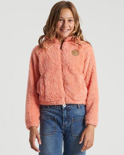 0 Girls' Winter Break Polar Fleece Jacket Multicolor G6093BWI Billabong