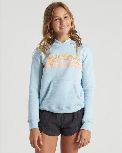 0 Girls' Heritage Stripe Hoodie Multicolor G6513BHE Billabong