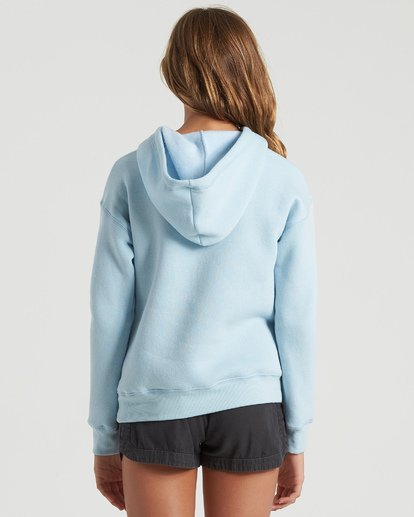 2 Girls' Heritage Stripe Hoodie Multicolor G6513BHE Billabong