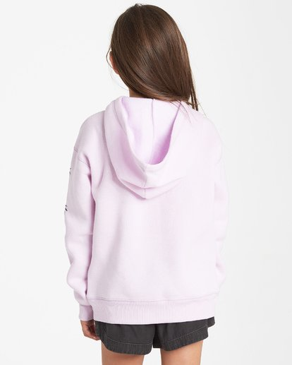2 Girls' Stay Wild Hoodie Purple G651VBST Billabong