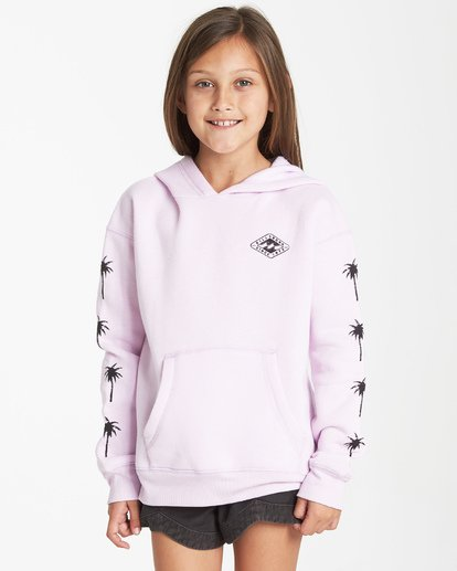 0 Girls' Stay Wild Hoodie Purple G651VBST Billabong