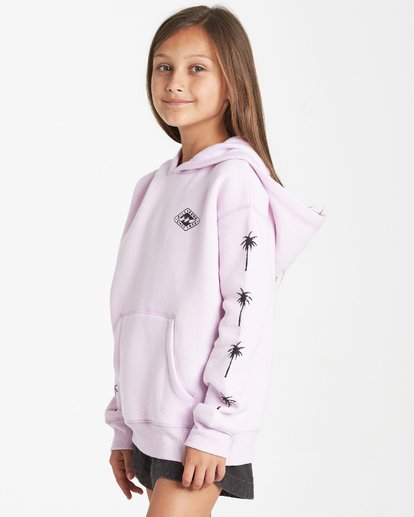 1 Girls' Stay Wild Hoodie Purple G651VBST Billabong