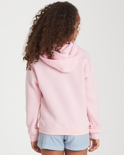2 Girls' Band Of Color Hoodie Pink G651WBBA Billabong