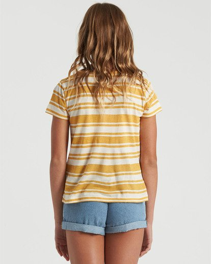 1 Girls' Soul Babe Mini T-Shirt Grey G9013BSO Billabong