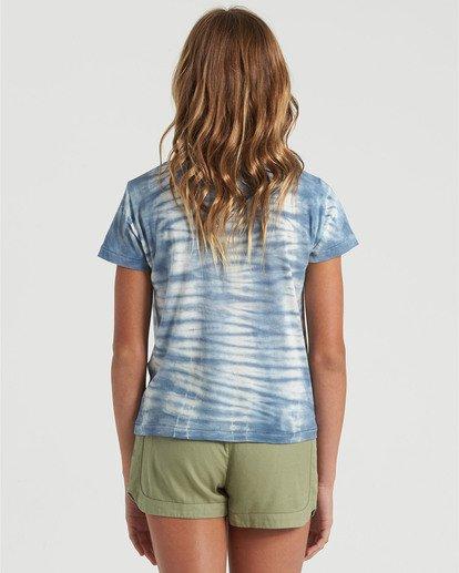 2 Girls' Soul Babe Mini T-Shirt Blue G9013BSO Billabong