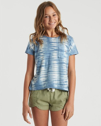 1 Girls' Soul Babe Mini T-Shirt Blue G9013BSO Billabong