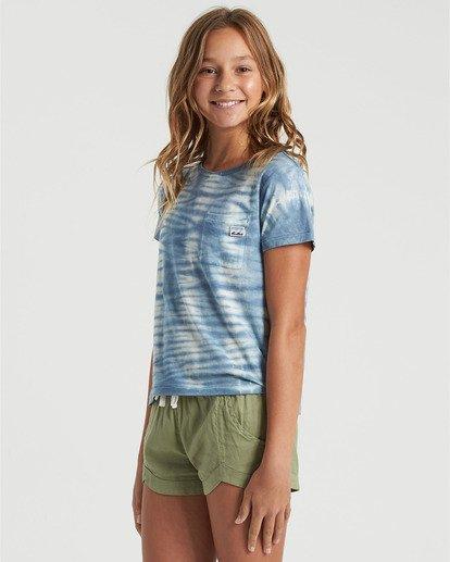 3 Girls' Soul Babe Mini T-Shirt Blue G9013BSO Billabong