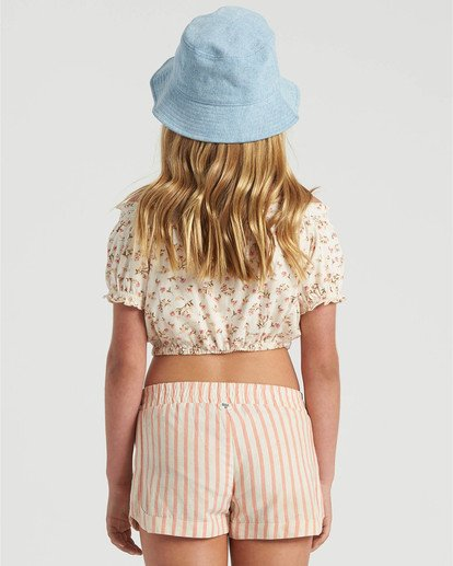 1 Girls' Sweet Song Top White G9023BSW Billabong