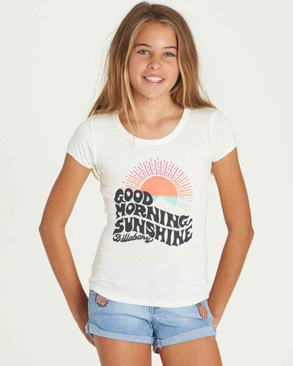 0 Girls' Hey There Tee  G902PBHE Billabong